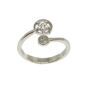 925 Sterling Silver Star Ring MGA - LRS3362