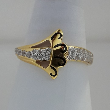 916 Gold fancy carving ring for woman MJ-ZA6511
