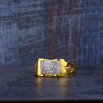 22ct 916 designer cz ring mr474