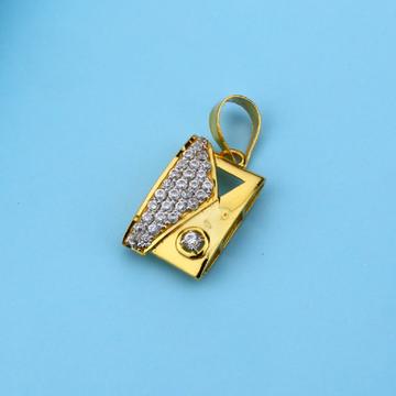 916 Gold Designer Hallmark ladies Pendant LFP19