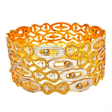 1 gram gold forming movable diamond bangles mga -...