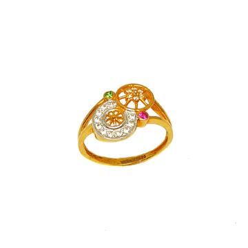 22K Gold Round Shaped Ring MGA - LRG0233