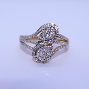 18K gold diamond ring agj-lr-243