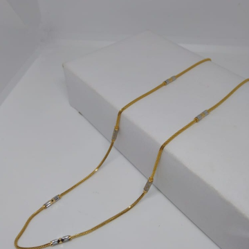 916 gold roadum chain by
