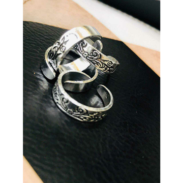 92.5 Sterling Silver Handmade Working Toe Ring(Bichiya,ferva) Ms-3689