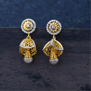 ladies jummar fancy Earrings 22K-LJE52