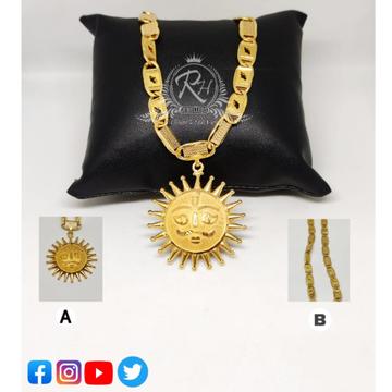 22 carat gold chain surya pandel RH-Pn045