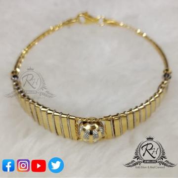 22 carat gold designed beautifull ladies kada RH-KD260