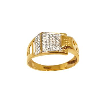 22K Gold CZ Diamond Ring MGA - GRG0211