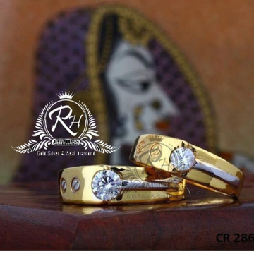 22 carat gold fancy couple rings RH-CR810