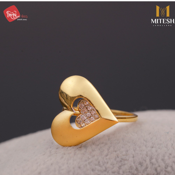 HEART DESIGN LADIES RING