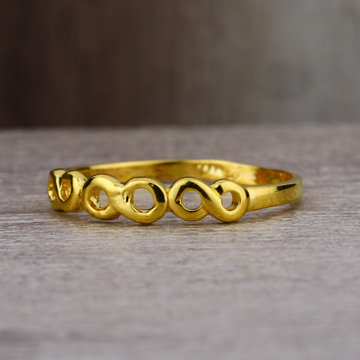 Ladies 22K Gold Fancy Band Ring -LPR61