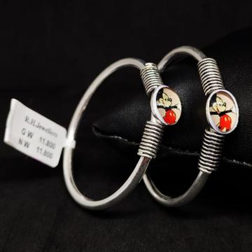 silver fancy kids bracelet RH-BB871