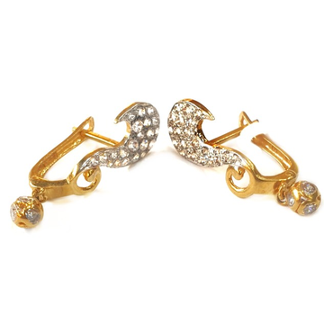 18k gold earrings mga - gb0017