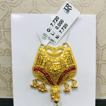 22 carat gold antique ladies mangalsutra RH-MN780