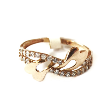 18k rose gold fancy ring mga - rgr0044
