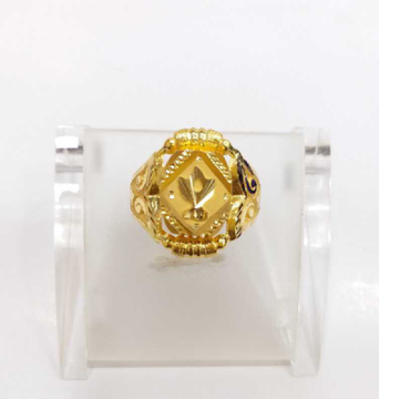 760 gold jalpari gents ring RJ-J001