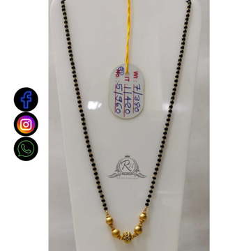 22 carat gold ladies mangalsutra RH-MN640