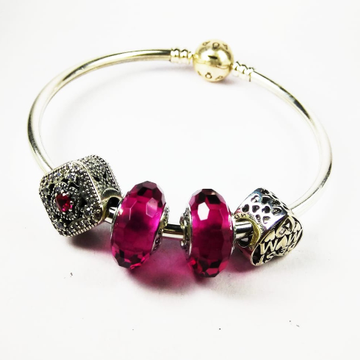92.5 ladies cristal bracelet by