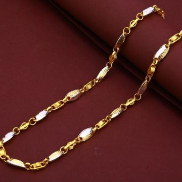 22 carat gold turkey mens gents chain RH-GC570
