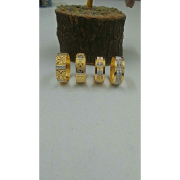 22KT Gold Indian Touch Ladies Ring
