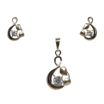 925 Sterling Silver Fancy Pendant Set MGA - PTS011...