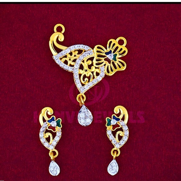 916 Gold Mangalsutra Pendal with Butti MSP-005