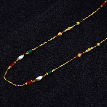 Ladies Delicate Gold Mala-AC119
