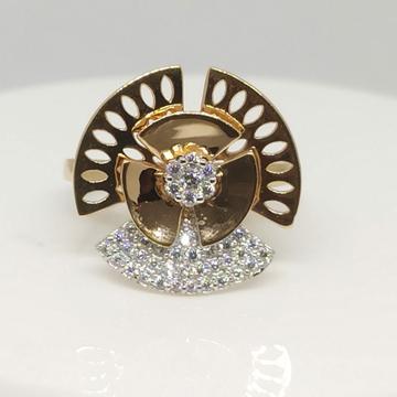 Rose Gold Fancy LR Ring by