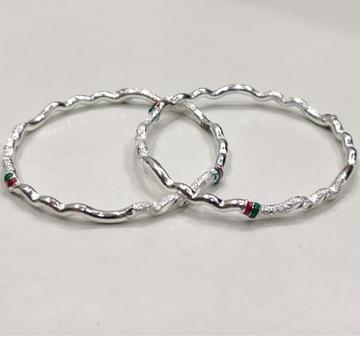 Silver antic ladies bangles rh-AB653