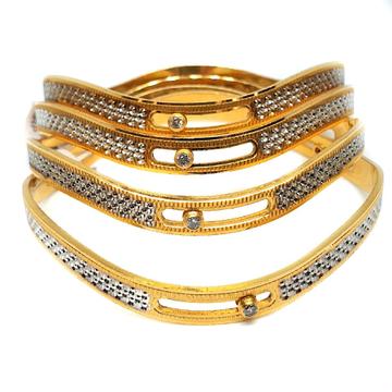 One gram gold forming bangles mga - gf0029