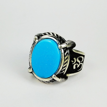 92.5 sterling silver enamel ring ml-128