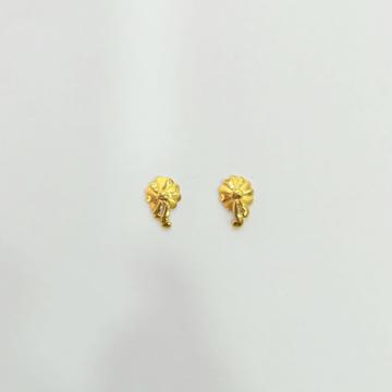 916 HM GOLD FANCY EARRINGS by Shreeji Silver Palace