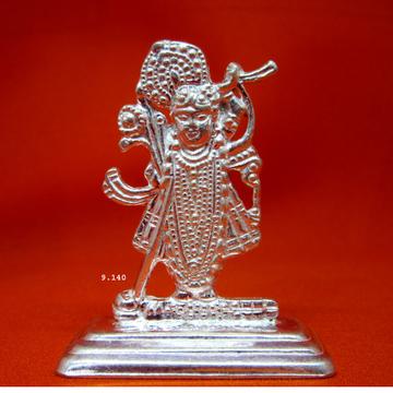 Silver Shreenathji Statue(Murti) MRT-142