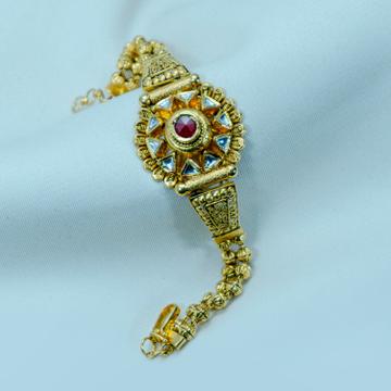 916 gold Bridal Antique Bracelet LB-566 by