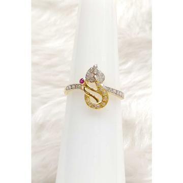 916 Gold Designer Exclusive Ladies Ring