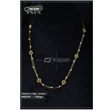 22 Carat 916 Gold Ladies swarovski mala Mot svg0011