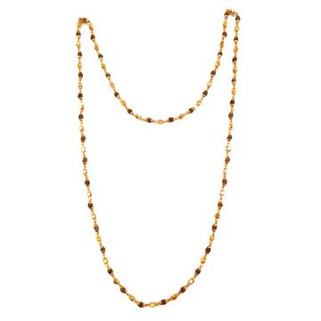 1 Gram Gold Forming Moti Mala MGA - MLE0024