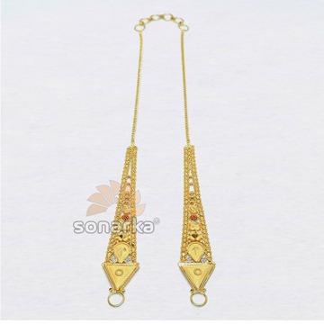 916 Gold Kanser Ear Chain for Ladies