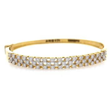 Nouvelle diamond bracelet in yellow gold 9brc30