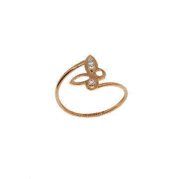 18K Rose Gold Butterfly Shaped Ring MGA - LRG1100