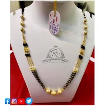 22 carat gold antiq ladies mangalsutra RH-MN546