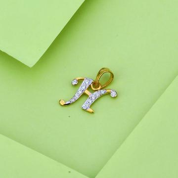 916 Gold Cz Fancy Pendant LP29