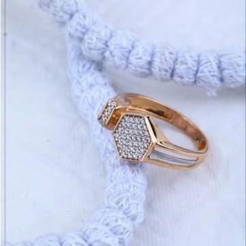 18Kt Rose gold Premium Gents Ring RH-GR53