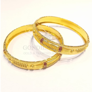 20kt gold bangle gbg54