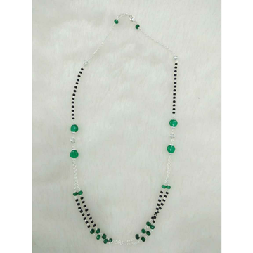 92.5 Sterling Silver Simple & Sober Mangalsutra Ms-2972