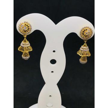 916 Ladies Fancy Gold Earring Er-60018