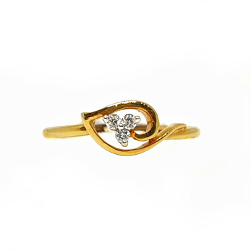 18K Gold Real Diamond Ring MGA - RDR002