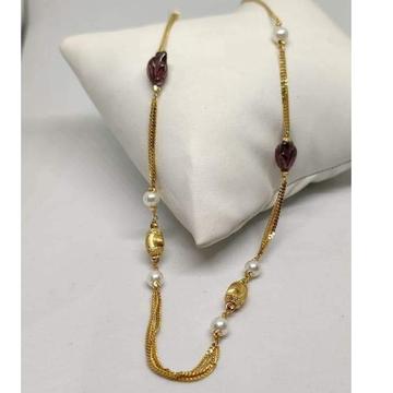 22 carat gold antic ladies chain RH-CH303