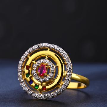 916 cz gold hallmark exclusive women's ring lr772
